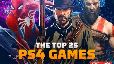 بهترین بازیهای پلی استیشن 4